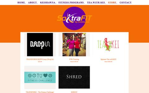 Screenshot of Signup Page soxtrafit.net - Store- So XtraFIT - captured Oct. 6, 2014
