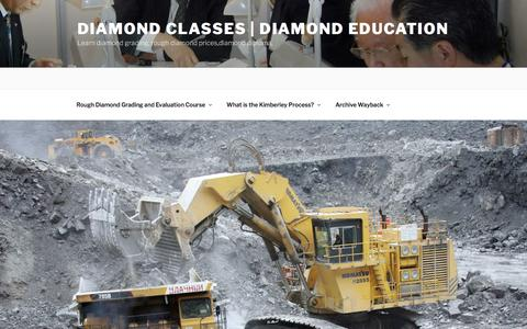 Regulations | Legislation| Act |Legal | Diamond Classes | Diamond Education