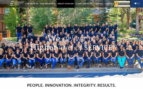 Screenshot of Team Page echelonrents.com - Echelon | Property Management Loveland, CO | Leadership - captured Sept. 22, 2018