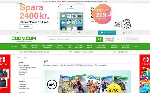 Datorspel och spel till alla konsoler - CDON.COM