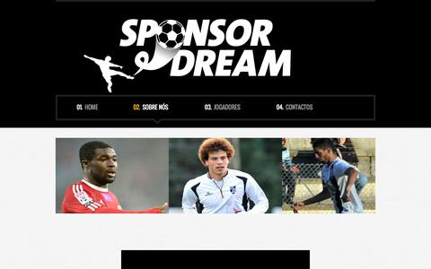 Screenshot of About Page sponsor-dream.com - About us  |  Sponsor Dream - captured May 10, 2016
