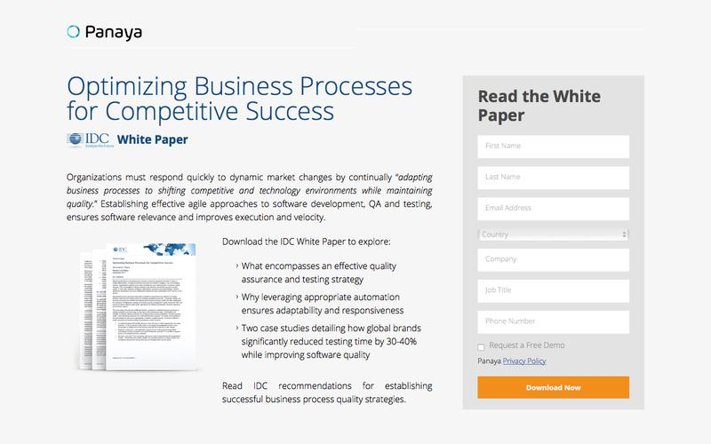 Optimizing Business Processes for Competitive Success
