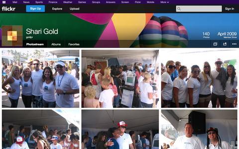Screenshot of Flickr Page flickr.com - Flickr: goldpr's Photostream - captured Oct. 23, 2014