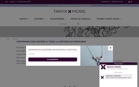 Envíos – Tanya Moss