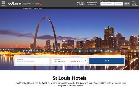 Top Hotels Near St Louis | Marriott St Louis Hotels