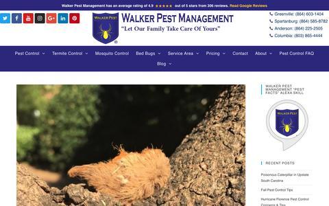 Screenshot of Press Page walkerpestmanagement.com - News Archives - Walker Pest Management - captured Oct. 20, 2018