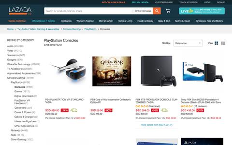 Consoles price in Singapore - Buy best Consoles online  | www.lazada.sg