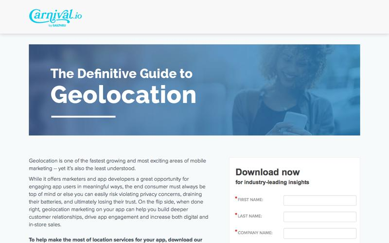 The Definitive Guide to Geolocation