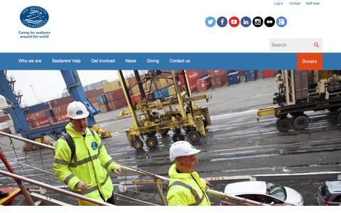 Screenshot of Case Studies Page missiontoseafarers.org - Mission To Seafarers | Pages | Case studies - captured Dec. 17, 2016