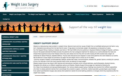 Obesity Support Group | Obesity Surgery :  Dr. Ashish Ahuja