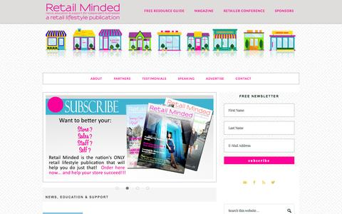 Retail Minded – Retail Minded is your source for news, support and education for boutique businesses.