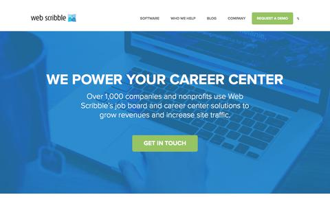 Web Scribble |  We Power Your Career Center
