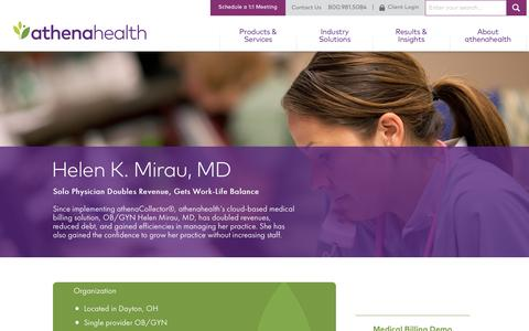 OBGYN Medical Billing | athenaCollector | athenahealth