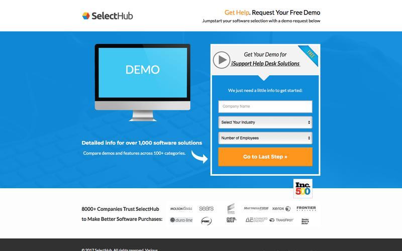 Get Demo Information for iSupport Help Desk Solutions