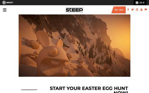Screenshot of Press Page ubisoft.com - Start Your Easter Egg Hunt Now! | Steep Game News & Updates | Ubisoft (CA) - captured Nov. 8, 2019