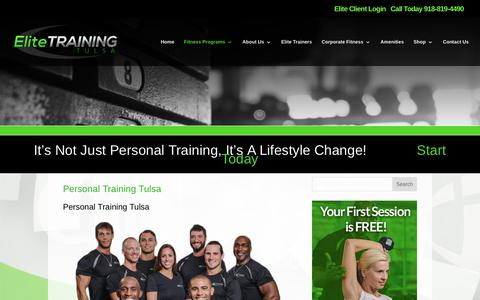Elite Training Tulsa | Personal Training Tulsa | Elite Training