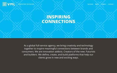 Screenshot of Home Page rockfishdigital.com - Rockfish Digital - captured June 3, 2019