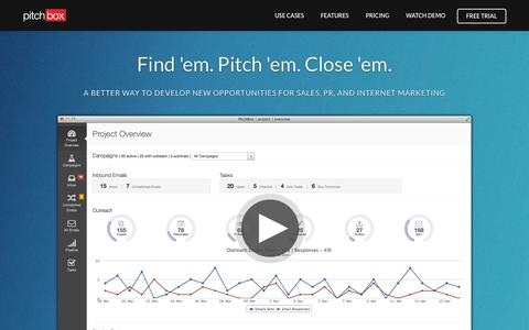 Pitchbox | Prospecting, Outreach & Relationship Building Platform