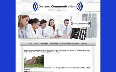 Screenshot of Testimonials Page telephoneguy.net - Testimonials current phone customers | Phone Systems |  Massachusetts - captured Oct. 5, 2014