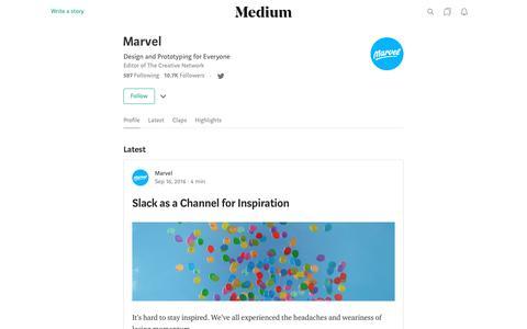 Marvel – Medium