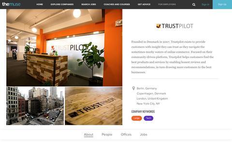 Trustpilot | Careers