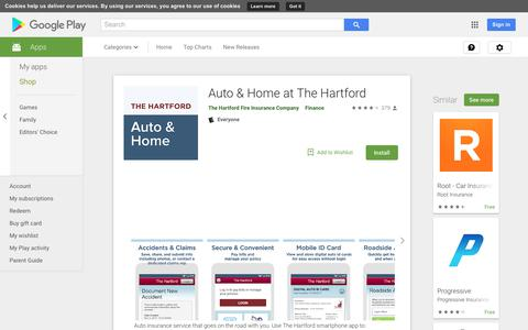 Auto & Home at The Hartford - Apps on Google Play