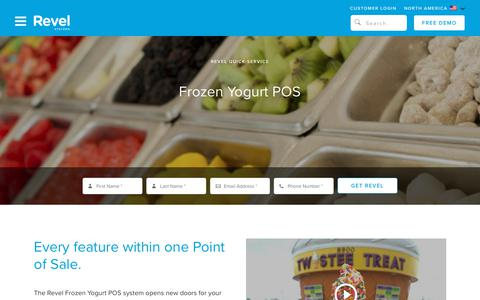 Frozen Yogurt POS   Ice Cream Shop POS System   Revel