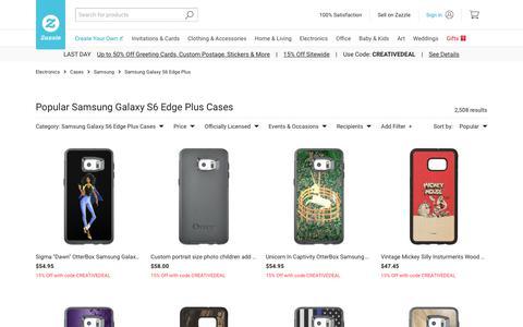 Samsung Galaxy S6 Edge Plus Cases | Zazzle