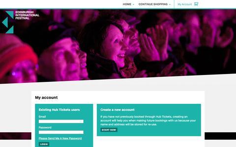Screenshot of Login Page eif.co.uk - Login - captured Sept. 19, 2014