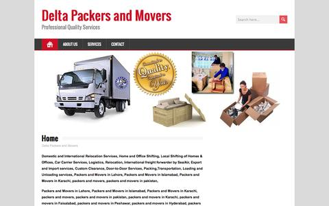 Home | Delta Packers and Movers
