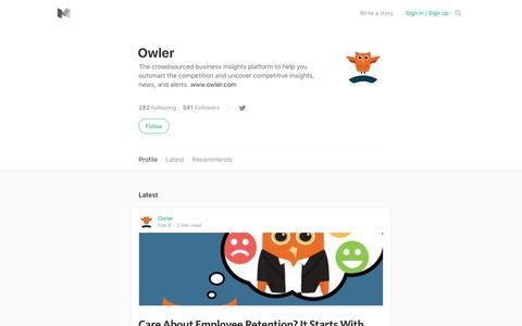 Owler – Medium