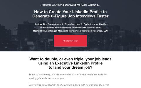 How to Create Your LinkedIn Profile to Generate 6-Figure Job Interviews Faster -