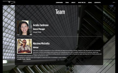 Screenshot of Team Page akylas.com - Team ‹ Akylas - captured Oct. 4, 2014