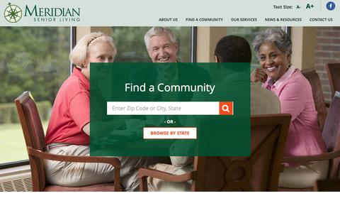 Senior Living | Quality Care and Life Services – Meridian | Meridian Senior Living