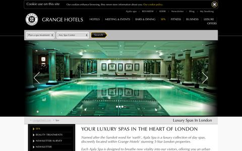 Luxury Spa Hotel London | Ajala Spa Central London
