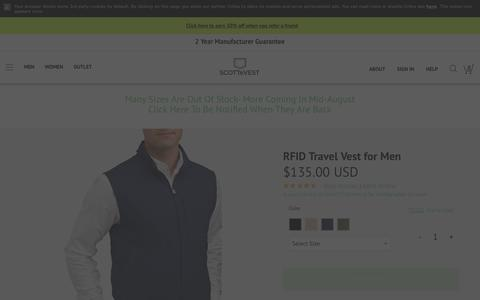 RFID Travel Vest - SCOTTeVEST