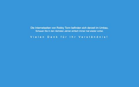 Screenshot of Home Page robbys-startrek-internetseite.de - Internetseite im Umbau - captured June 27, 2018