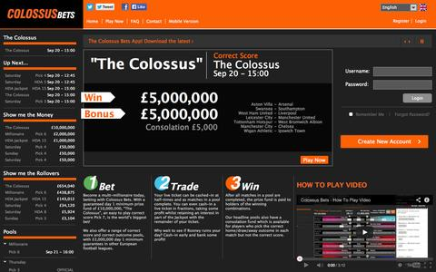 Gambling & Casinos Privacy Pages | Website Inspiration and