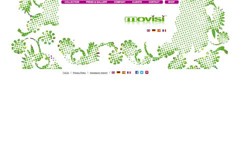 Screenshot of Privacy Page movisi.com - Privacy Policy - movisi - captured Oct. 7, 2014