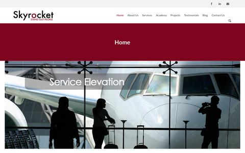 Screenshot of Home Page skyrocket.com.hk - Home - Skyrocket.com.hkSkyrocket.com.hk - captured Sept. 4, 2015