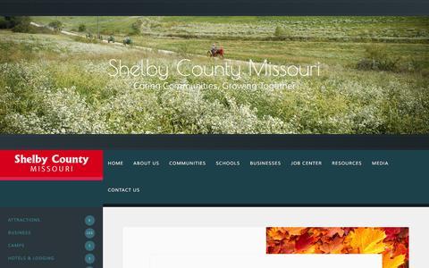 Screenshot of Press Page shelbycountymo.com - Press   Shelby County Missouri - captured Feb. 17, 2016