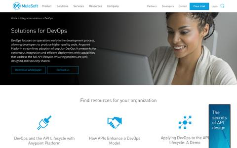 Continuous Integration | Solution for DevOps | MuleSoft