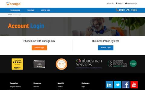 Vonage | Providers of truly flexible VoIP phone systems.