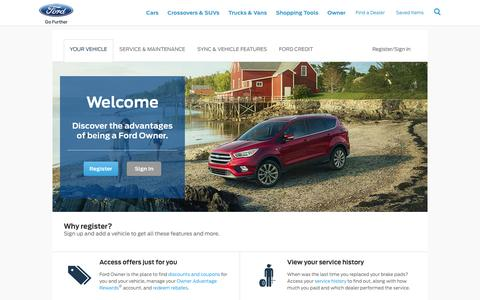 Welcome to Ford Owner | Official Ford Owner Site
