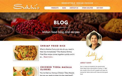 Screenshot of Blog sukhis.com - Blog – Sukhis - captured Oct. 2, 2019