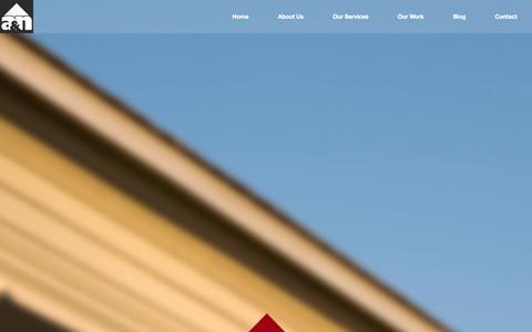 Screenshot of Home Page iamstucco.com - A & N Exterior Stucco | We Are Toronto's Residential Stucco and Commercial Stucco Experts | Toronto Stucco Contractors | Stucco Installation - captured Oct. 4, 2014