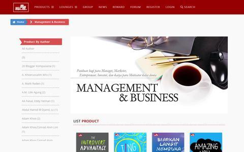 Screenshot of Team Page elexmedia.id - Management - Elex Media Komputindo - captured June 25, 2016