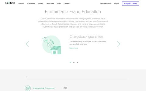 Screenshot of Team Page riskified.com - Fraud Prevention & Management - Risk Academy | Riskified - captured Feb. 20, 2020