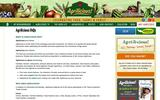 Old Screenshot Agrilicious! All Things Local Food FAQ Page