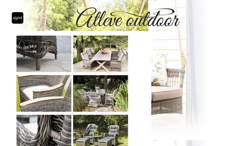 Screenshot of Home Page atleve.com - Start - captured Oct. 4, 2014